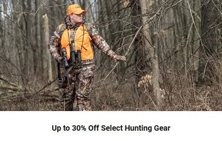 Up to 30% Off Select Hunting Gear from Dick's Sporting Goods