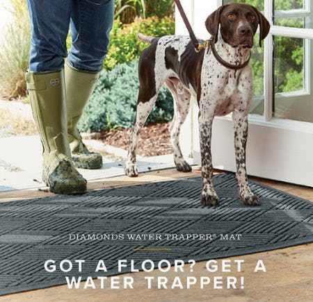 Our Diamonds Water Trapper Mat from Orvis