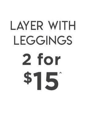 2 for $15 Leggings from Cotton On Kids