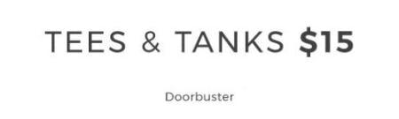 Tees & Tanks $15 from Lane Bryant