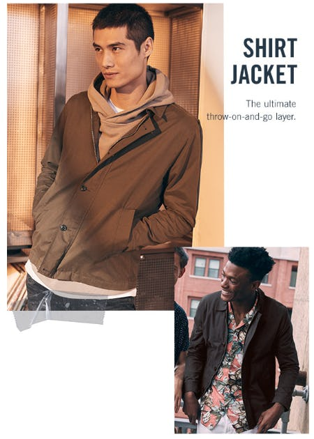 Jacket Season from Abercrombie & Fitch