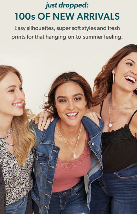 Just Dropped: 100s of New Arrivals from maurices