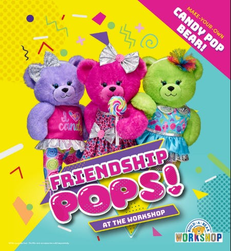 Friendship Pops at the Workshop! from Build-A-Bear Workshop
