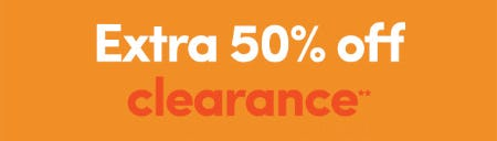 Extra 50% Off on Clearance from J. Crew Factory