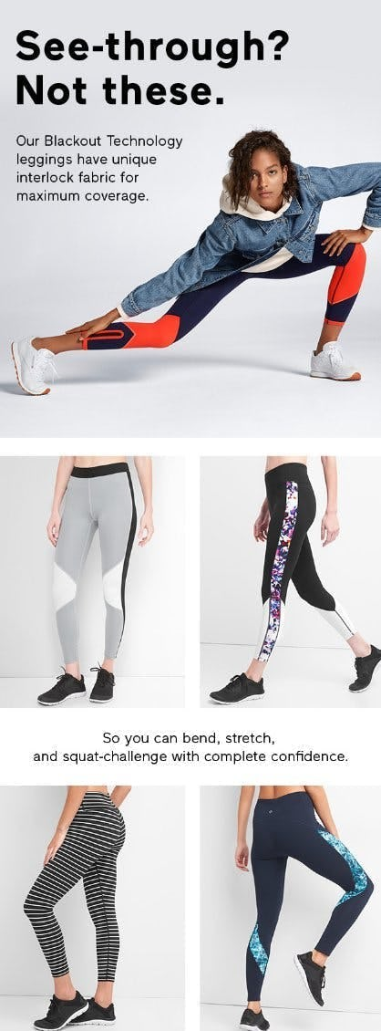 Shop The Blackout Technology Leggings