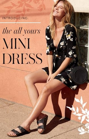Introducing The All Yours Mini Dress