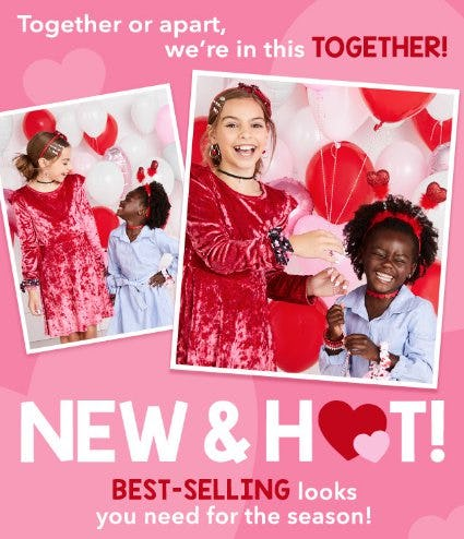 Everything NEW & HOT only at Claire's