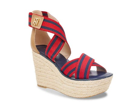Tommy Hilfiger Thina Wedge Sandal from DSW Shoes