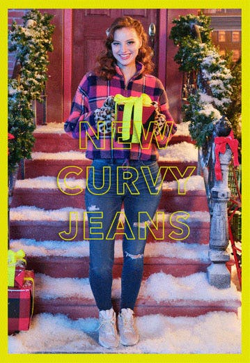 New Curvy Jeans from American Eagle
