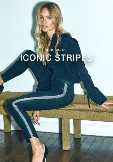 New Side Stripe Denim