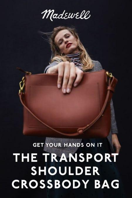Introducing the Transport Shoulder Crossbody Bag