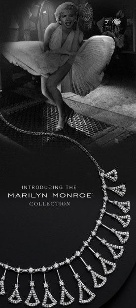 Introducing the Marilyn Monroe Collection from Zales Jewelers