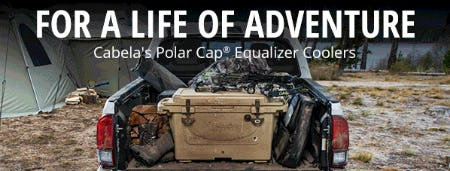 Cabela's Polar Cap® Equalizer Coolers from Cabela's