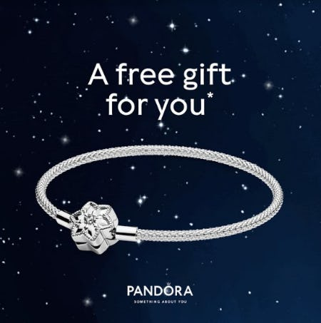 A Free Gift for You from PANDORA