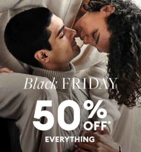 50% Off Everything from Banana Republic