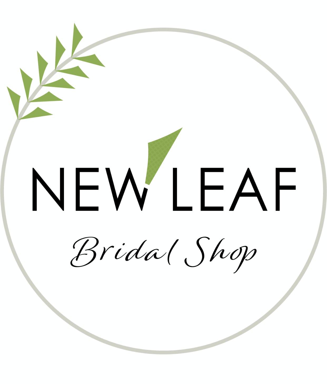 New Leaf Bridal Shop                     Logo