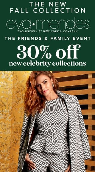 30% Off New Celebrity Collections from New York & Company