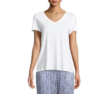 Hanro Sleep & Lounge Short-Sleeve Shirt from Neiman Marcus
