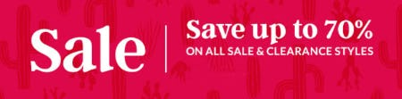 Save Up to 70% on All Sale & Clearance Styles from Lands' End