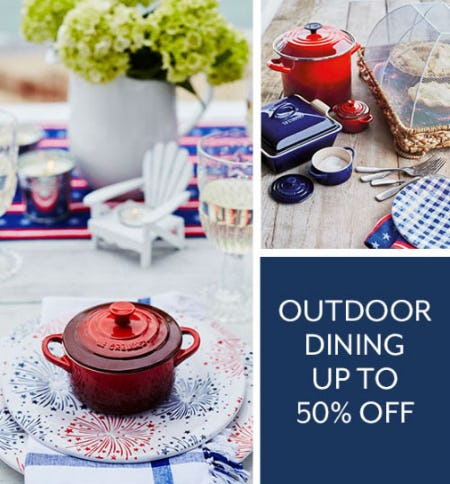 Up to 50% Off Outdoor Dining from Sur La Table