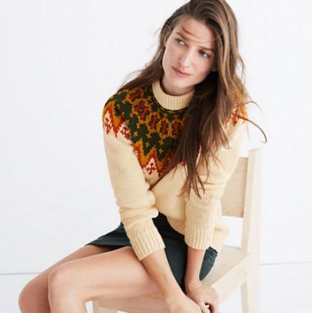 Fair Isle Pullover Sweater