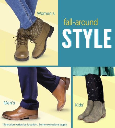 Fall-time Favorites! from SHOE DEPT. ENCORE