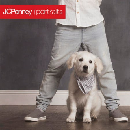 Pet Photography Event from JCPenney Portraits