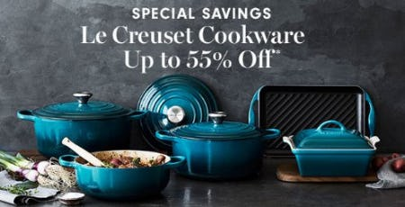 Up to 55% Off Le Creuset Cookware from Williams-Sonoma
