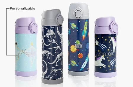 Waste-Free Water Bottles from Pottery Barn Kids