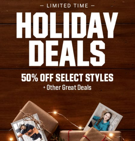 50% Off Select Styles from Dick's Sporting Goods
