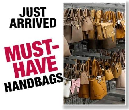 Now Arriving: Handbags from Burlington