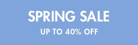 Spring Sale Up to 40% Off from Tory Burch