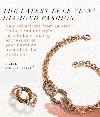 This Just In: New Styles from Le Vian from Jared Galleria Of Jewelry