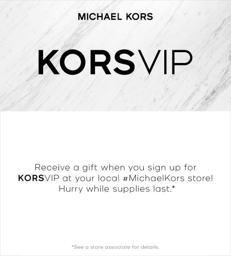 KORSVIP from Michael Kors