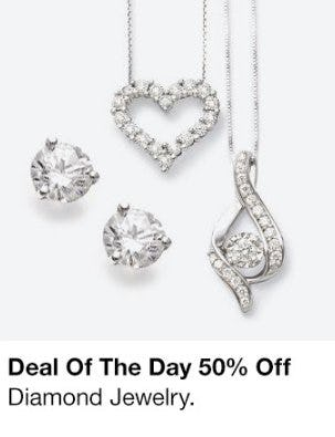 50% Off Diamond Jewelry from macy's