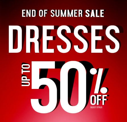 Up to 50% Off Dresses from Rainbow