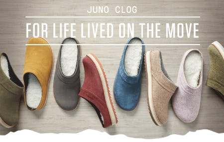 The Juno Clog from Merrell