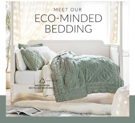 Introducing Our Eco-Minded Bedding from PBteen