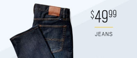 $49.99 Jeans from Men's Wearhouse