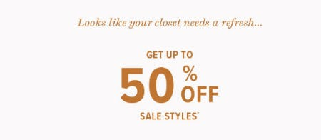 Up to 50% Off Sale from Lucky Brand Jeans