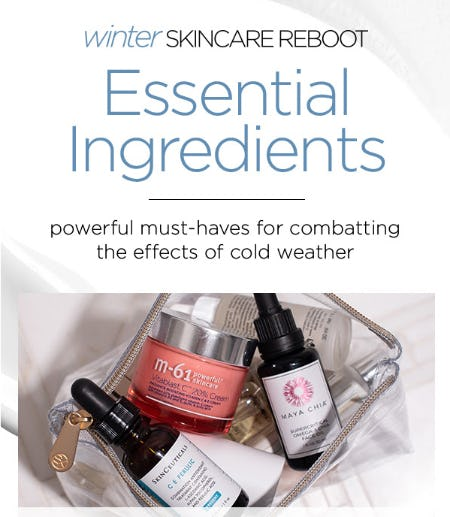 Winter Skincare Reboot from Blue Mercury
