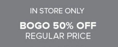 BOGO 50% Off Regular Price from Torrid