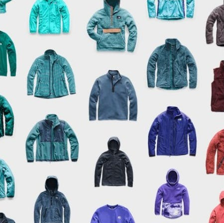 Fleece Favorites in Every Color from The North Face