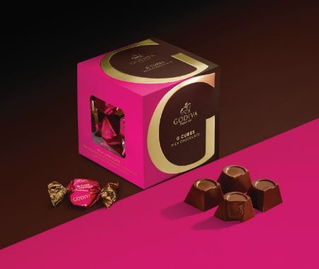 Hello, G-Cubes! from Godiva Chocolatier