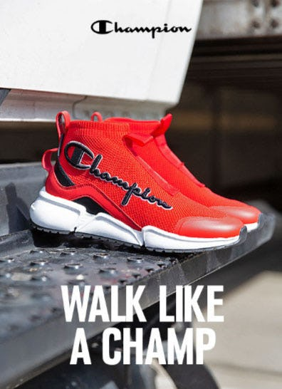 New MVP Footwear From Champion from Shiekh