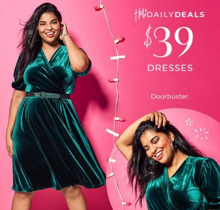 $39 Dresses from Lane Bryant