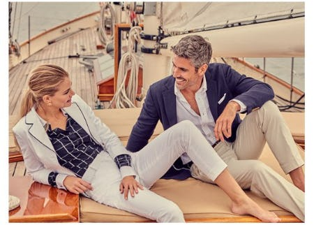New Nautical Styles for Warm Weather from Brooks Brothers