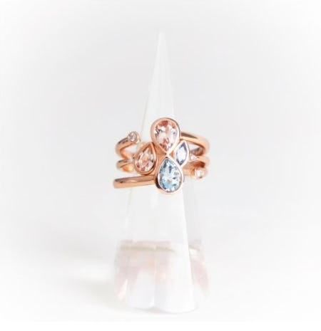 New Pear Shaped Rings Starting At $300 from Ben Bridge Jeweler