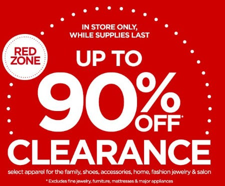 Up to 90% Off Clearance from JCPenney