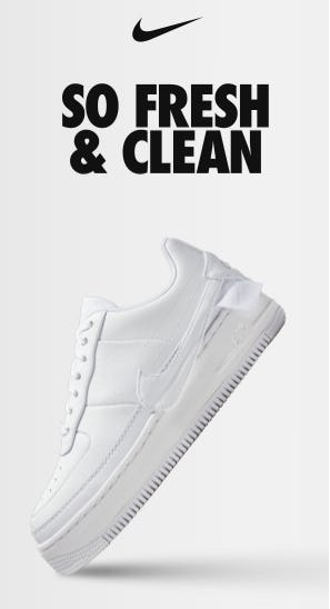 The Triple White Style from Nike